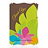 Luau - Personalized Bridal Shower Thank You Cards