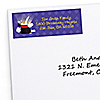 Magic - Personalized Birthday Party Return Address Labels - 30 ct