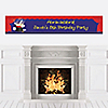 Magic - Personalized Birthday Party Banners