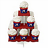 Little Magician - Birthday Party Cupcake Stand and 13 Cupcake Wrappers