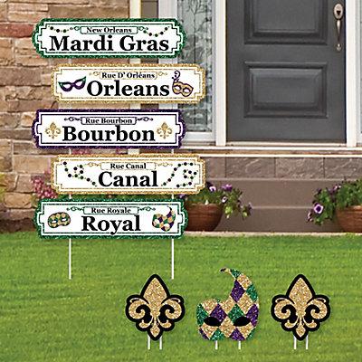 Decoration | Street | Party | Yard | Sign | St. | Set