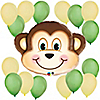 Mischievous Monkey - Birthday Party Balloon Kit