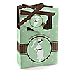 Mommy Silhouette It's A Baby - Personalized Baby Shower Favor Boxes