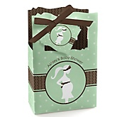 Mommy-To-Be Silhouette – It's A Baby - Personalized Baby Shower Favor Boxes