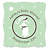 Mommy Silhouette It's A Baby - Personalized Baby Shower Tags - 20 ct
