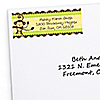 Monkey Neutral - Personalized Baby Shower Return Address Labels - 30 ct