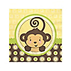 Monkey Neutral - Baby Shower Beverage Napkins - 16 ct