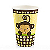 Monkey Neutral - Baby Shower Hot/Cold Cups - 8 ct
