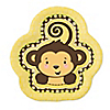 Monkey Neutral - Baby Shower Dessert Plates - 8 ct