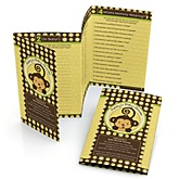 Monkey Neutral - Fabulous 5 Personalized Baby Shower Games