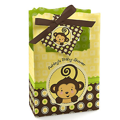 monkey neutral personalized baby