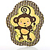 Monkey Neutral - Baby Shower Dinner Plates - 8 ct