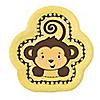 Monkey Neutral - Birthday Party Dessert Plates - 8 ct