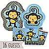 Monkey Boy - Baby Shower 16 Big Dot Bundle