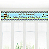 Monkey Boy - Personalized Baby Shower Banners