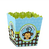 Monkey Boy - Personalized Baby Shower Candy Boxes