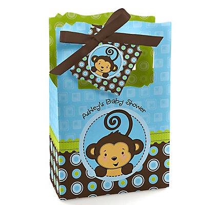 modern baby showers monkey boy baby shower ideas