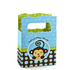 Monkey Boy - Personalized Baby Shower Mini Favor Boxes
