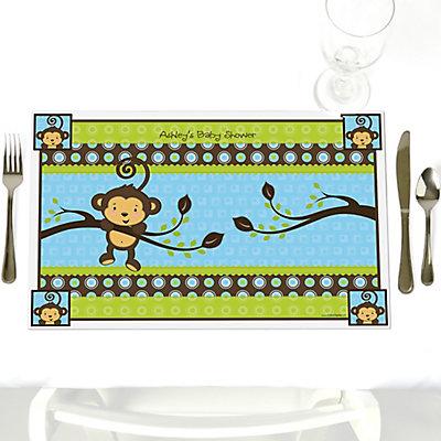 monkey boy baby shower decorations & theme - babyshowerstuff, Baby shower invitations