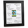 Monkey Boy - Personalized Baby Shower Signature Mat Gift