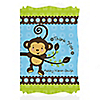 Monkey Boy - Personalized Baby Shower Thank You Cards