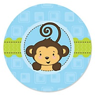 monkey boy baby shower theme woodland creatures baby shower theme