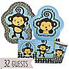 Monkey Boy - Birthday Party 32 Big Dot Bundle