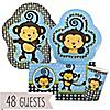 Monkey Boy - Birthday Party 48 Big Dot Bundle