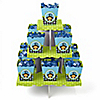 Monkey Boy - Birthday Party Candy Stand and 13 Candy Boxes