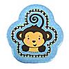 Blue Monkey Boy - Birthday Party Dessert Plates - 8 ct