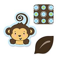 monkey boy baby shower decorations theme