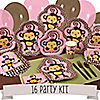 Monkey Girl - 16 Person Party Kit