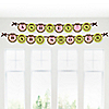 Pink Monkey Girl - Personalized Baby Shower Garland Letter Banners