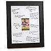 Monkey Girl - Personalized Baby Shower Signature Mat Gift