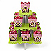 Monkey Girl - Birthday Party Candy Stand and 13 Candy Boxes