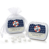 Ahoy - Nautical - Mint Tin Personalized Baby Shower Favors
