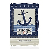 Ahoy - Nautical - Baby Shower Thank You Cards