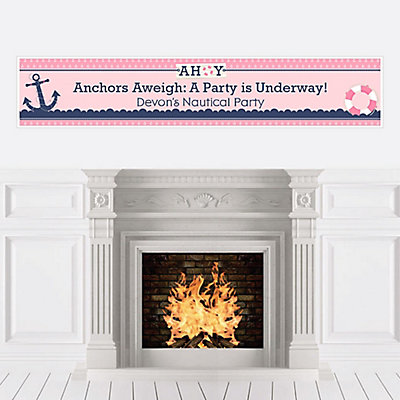 Personalize | Banner | Party | Girl