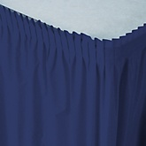 Navy - Baby Shower Table Skirt