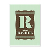 Neutral Baby - Personalized Baby Shower Poster Gifts