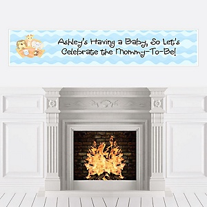 Noah's Ark - Personalized Baby Shower Banners