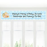 Noah's Ark - Personalized Baby Shower Banner