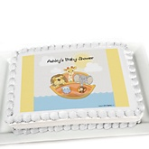 Noah's Ark - Personalized Baby Shower Cake Image Topper