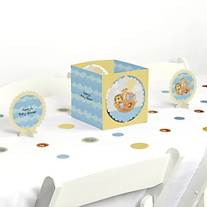 Noah's Ark - Baby Shower Centerpiece & Table Decoration Kit