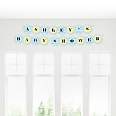Noah's Ark - Personalized Baby Shower Garland Banner