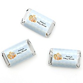 Noah's Ark - Personalized Baby Shower Mini Candy Bar Wrapper Favors - 20 ct