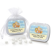 Noah's Ark - Mint Tin Personalized Baby Shower Favors