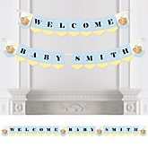 Noah's Ark - Personalized Baby Shower Bunting Banner