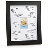 Noah's Ark - Personalized Baby Shower Print with Signature Mat