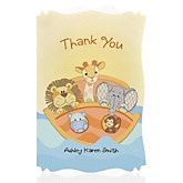 Noah's Ark - Personalized Baby Shower Thank You Cards
